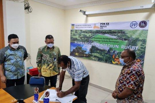 Disorda Papua sebut pembangunan venue rugbi telan biaya Rp121 miliar