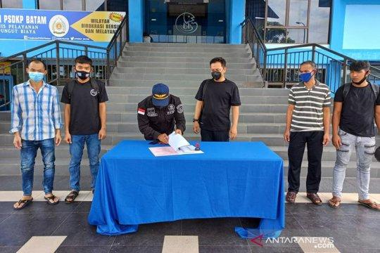 KKP deportasi 34 awak kapal Vietnam