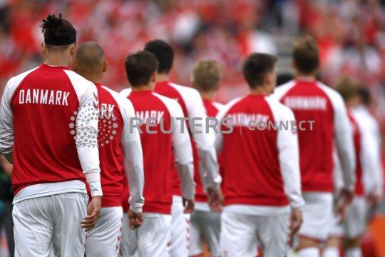 Susunan pemain Rusia vs Denmark: Damsgaard isi lagi tempat Eriksen