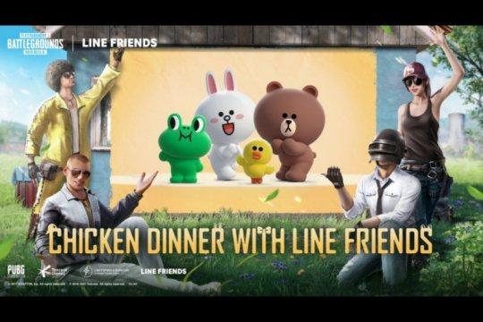 PUBG Mobile jalin kerja sama dengan Line Friends