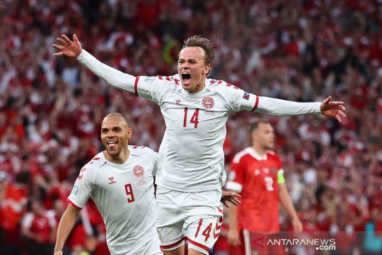 Piala Eropa 2020: Denmark libas Rusia 4-1
