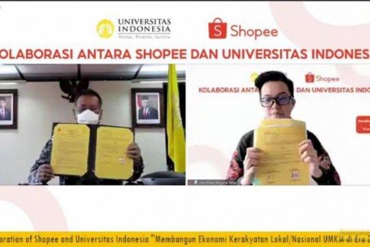 UI-Shopee perkuat sinergi Tri Dharma Perguruan Tinggi