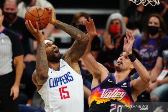 George pimpin Clippers atasi Suns dalam gim ketiga final Wilayah Barat