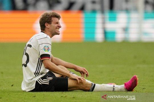 Kondisi Thomas Mueller masih tanda tanya jelang Jerman vs Hungaria
