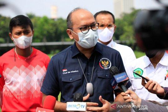 CdM minta atlet perketat prokes jelang Olimpiade Tokyo