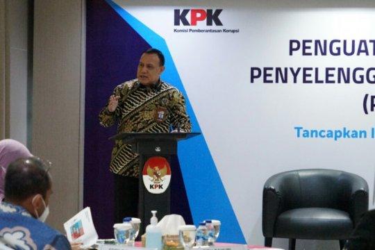 KPK ingatkan penyelenggara negara tanamkan integritas