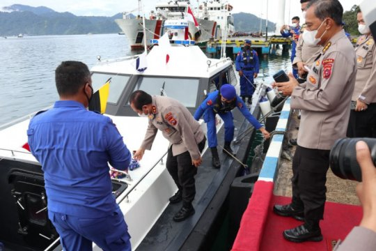 Polda Sumbar miliki kapal pemburu perkuat pengawasan perairan