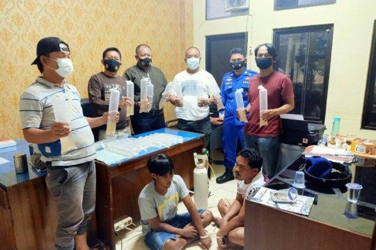 Polda Lampung gagalkan jual-beli benih lobster senilai Rp1 miliar