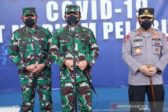 Panglima TNI-Kapolri pantau Serbuan Vaksinasi di Pelindo II
