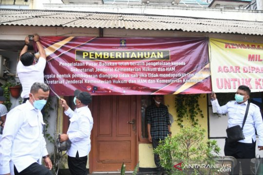 Kemenkumham ambil alih pengelolaan Pasar Babakan Tangerang