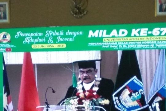 Rektor UKM Malaysia terima Doktor Honoris Causa dari UMI Makassar