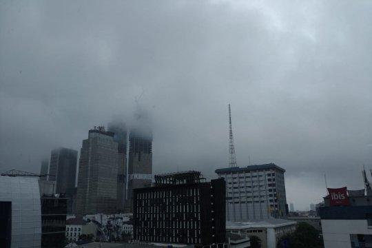 Hujan diperkirakan guyur sebagian wilayah DKI Jakarta