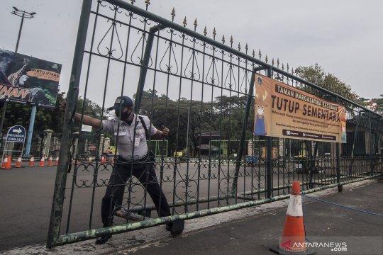 Penutupan sementara Taman Margasatwa Ragunan