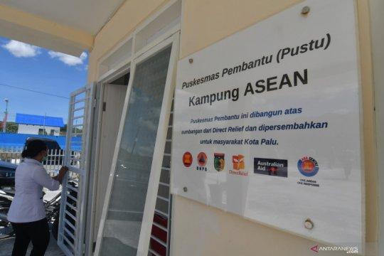 Peresmian Kampung ASEAN untuk penyintas bencana