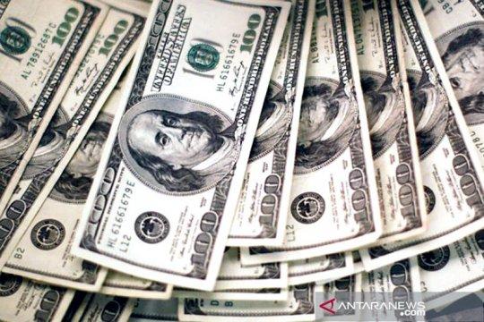 Dolar melemah ketika Powell tidak naikkan suku bunga terlalu cepat