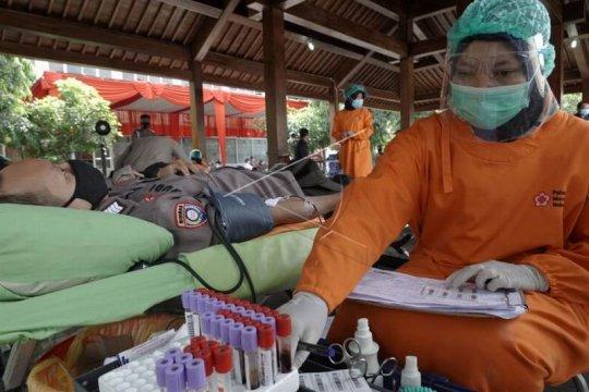 Donor darah HUT Bhayangkara,