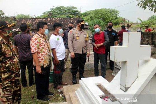 Polisi gandeng Bapas pada kasus perusakan makam di Solo