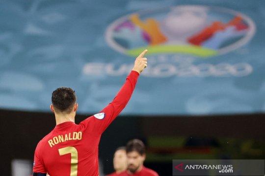 Ronaldo puncaki top skor Euro 2020 yang didominasi gol bunuh diri