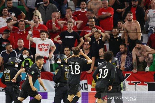 Jerman redam perlawanan Hongaria 2-2 demi lolos ke 16 besar