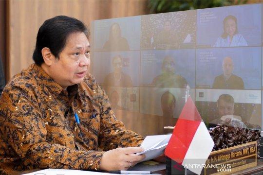 Menko Airlangga : Pemerintah jaga pembangunan berkelanjutan