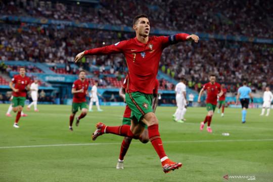Euro 2020: Portugal vs Prancis imbang 2-2