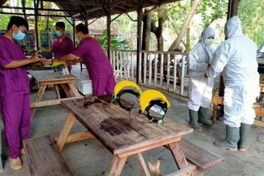 Gugus Tugas COVID-19 Kulon Progo PCR 70 peserta pelatihan Dolan Ndeso