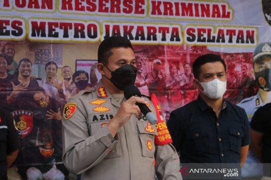 Polres Jaksel tangkap pencuri tabung gas elpiji
