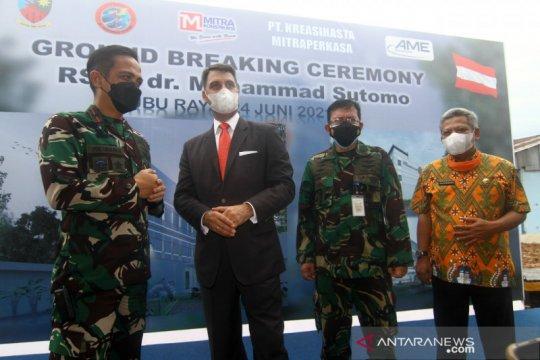 Austria bantu pembangunan Rumah Sakit TNI AU di Kubu Raya