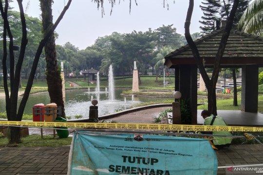 Pemkot Jaksel tutup sementara 347 taman antisipasi kerumunan