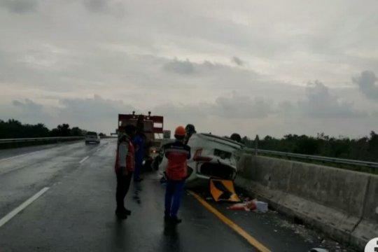 HK sebut kecelakaan minibus diduga melaju dengan kecepatan tinggi