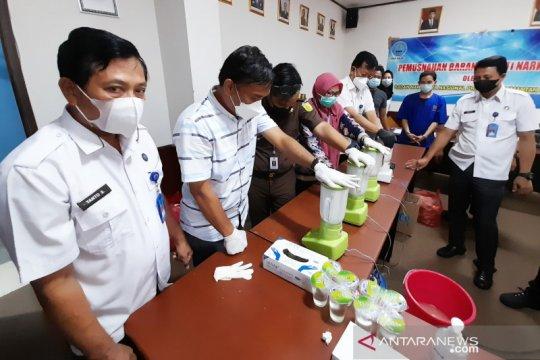 BNN Kalsel musnahkan delapan kilogram sabu-sabu