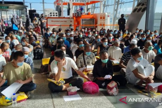 Pemerintah Indonesia pulangkan 145 WNI rentan dari Kuala Lumpur