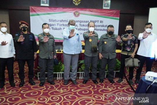 Cegah terorisme, BNPT perkuat sinergi dengan tokoh masyarakat Merauke