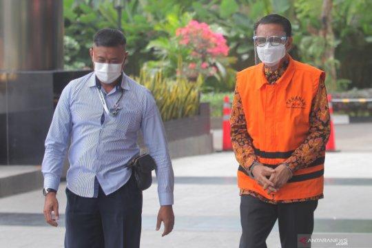Berkas perkara Nurdin Abdullah dilimpahkan ke pengadilan