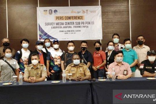 Ditjen IKP Kemenkominfo survei media center PON XX klaster Jayapura