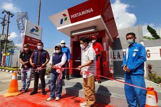 Pertamina buka Pertashop BBM diesel pertama di Jateng