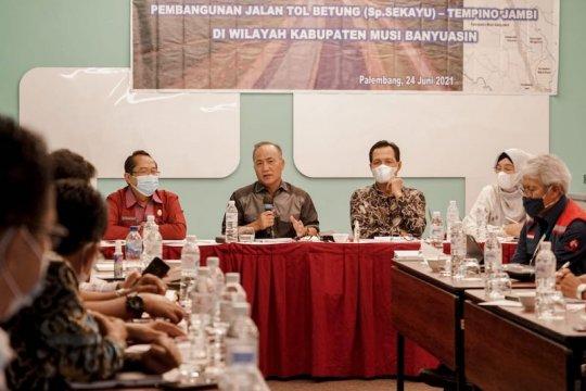 Perusahaan di Muba dukung pembangunan Tol Betung-Tempino-Jambi