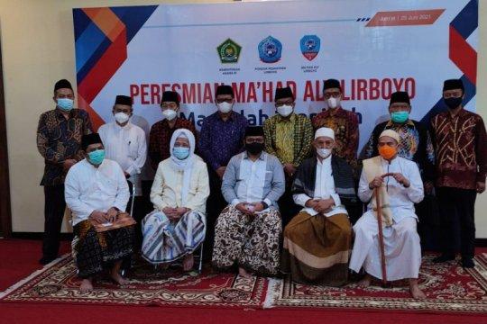 Menag sosialisasikan aturan saat Shalat Idul Adha di Lirboyo Kediri