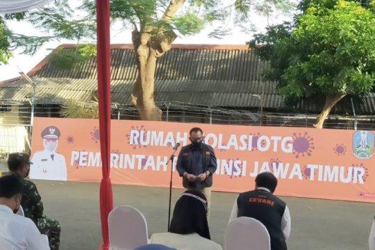 Pemprov Jatim operasikan RS isolasi OTG di area Asrama Haji Surabaya
