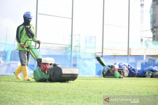 Jakarta International Stadium gunakan rumput hibrida asal Boyolali