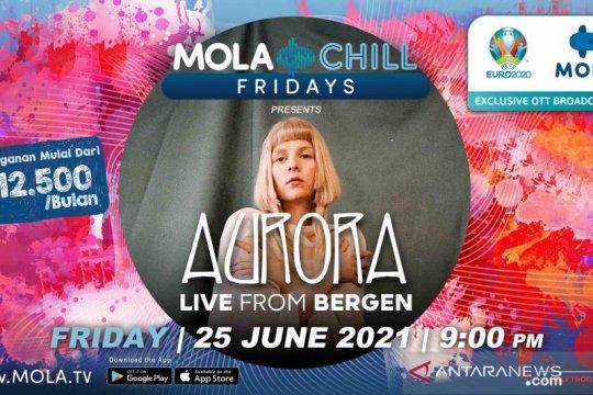 Aurora siap tampil virtual dari Norwegia di Mola Chill Fridays