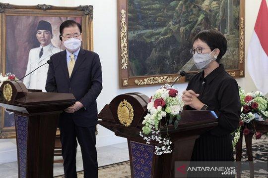 Menlu RI, Korea Selatan tegaskan peningkatan kerja sama kesehatan
