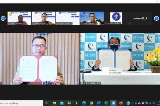 IPB University-Kitami Institute Jepang teken MoU di bidang riset