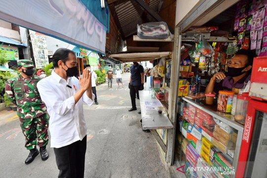 Dikunjungi Presiden, Kelurahan Rawasari klaim PPKM mikro berjalan baik