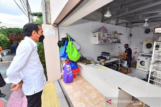 Usai dikunjungi Presiden, Rawasari ajukan bansos untuk warga isoman