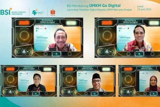 "BSI dan Shopee latih 1000 UMKM ""go digital"""
