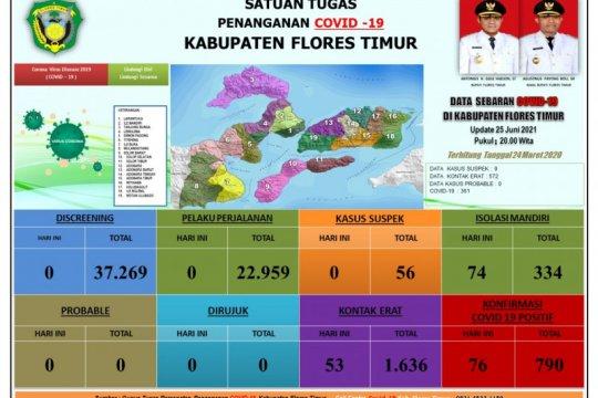 Bertambah 76 orang, positif COVID-19 di Flores Timur capai 790 kasus