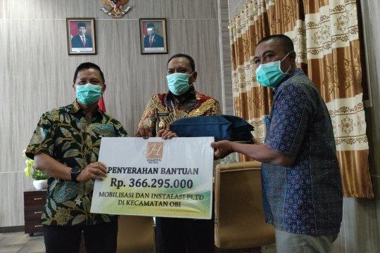 Pulau Obi Maluku Utara dialiri listrik 24 jam, ekonomi warga meningkat