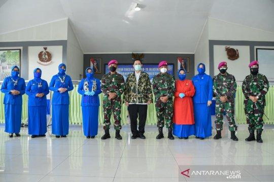 Korps Marinir bantu pemerintah perangi COVID-19