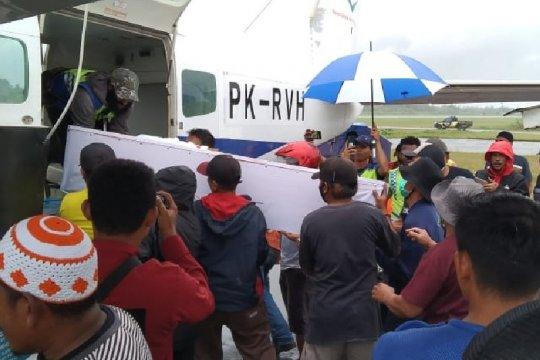 Jenazah korban penembakan di Yahukimo dievakuasi ke Merauke